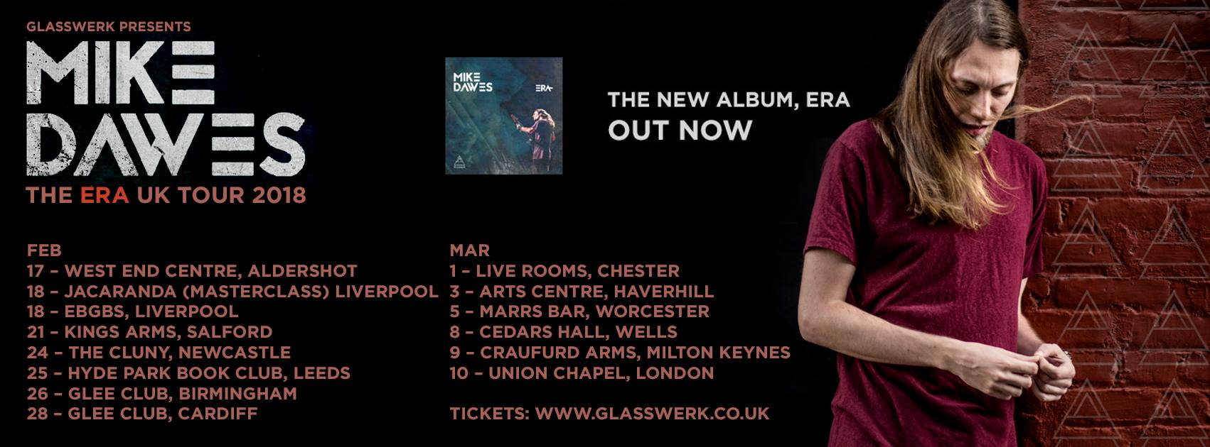 Mike Dawes U.K. Tour 2018