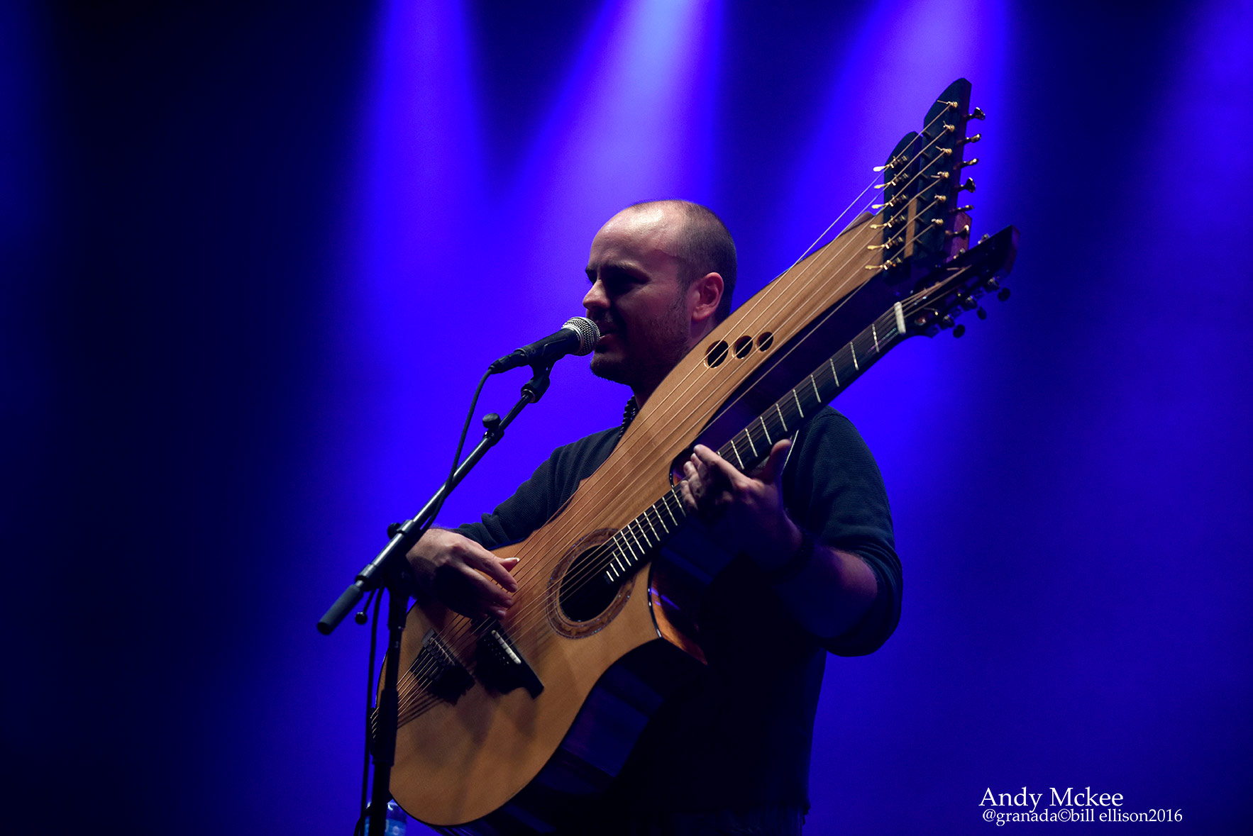 Acoustic Genius Andy McKee Returns To The Uk