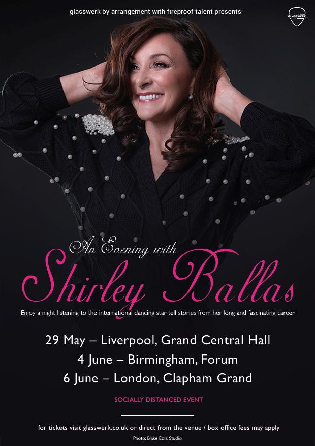 An Evening With Shirley Ballas - Tour