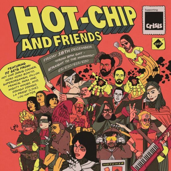 Hot Chip announce Hot Chip and Friends charity stream