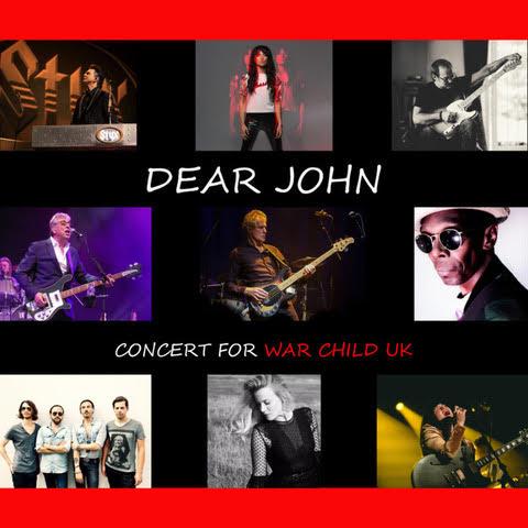 'DEAR JOHN– CONCERT FOR WAR CHILD UK'- STAR-STUDDED LIVE ALBUM CELEBRATES JOHN LENNON ON HIS 80th BIRTHDAY